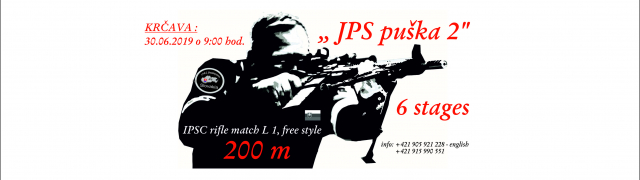 JPS puška 2 - IPSC rifle match L1